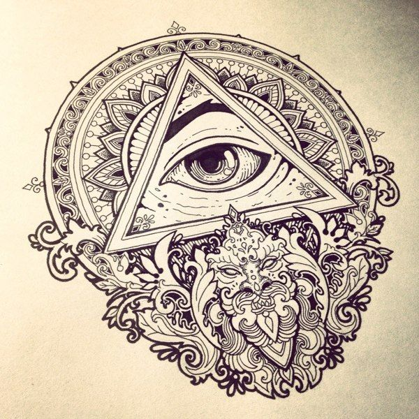 600x600 309 Best All Seeing Eye Tattoos Images On Eye Tattoos