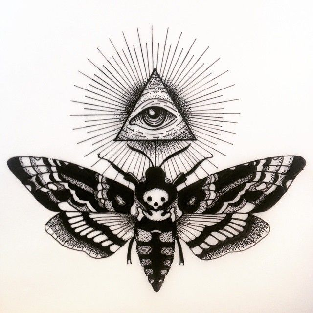 640x640 all seeing eye tattoo flash elaxsir