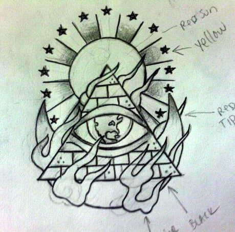 640x640 All Seeing Eye By MonteyRoo On DeviantArt 459x453 Bang Galore Tattoo From Concept To Creation
