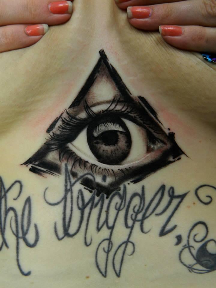 720x960 Kline Family Ink Realistic All Seeing Eye Tattoo