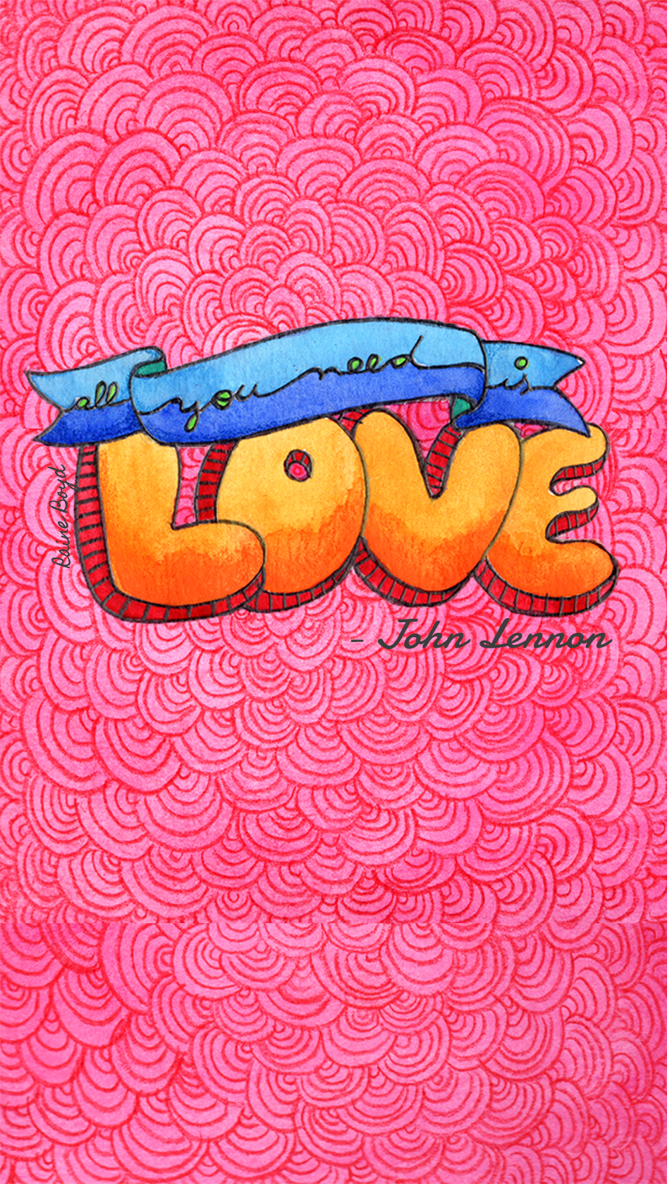 946x1680 All You Need Is Love
