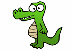 250x175 How To Draw Crocodiles Amp Alligators Drawing Tutorials Amp Drawing