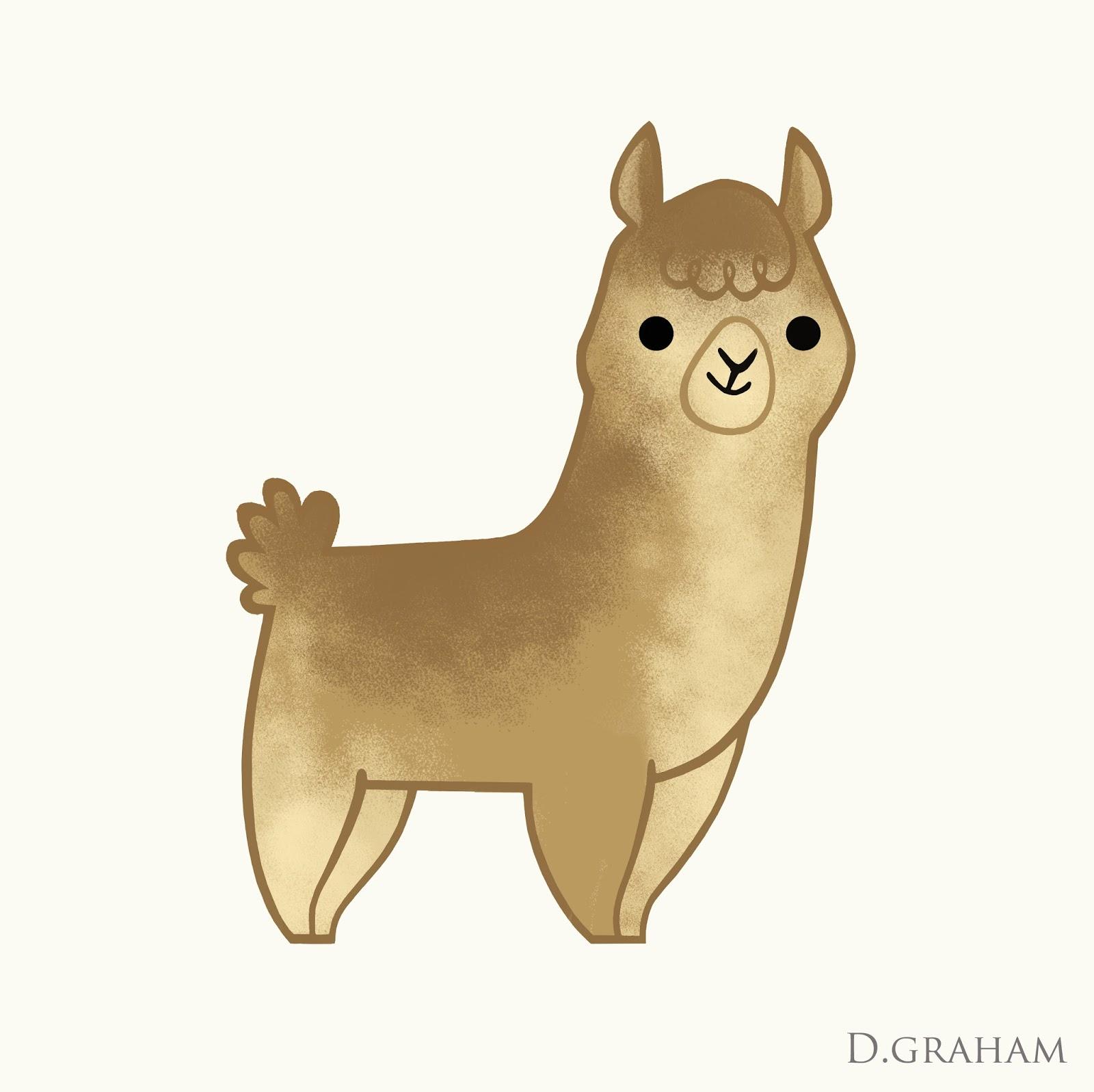 Alpaca Drawing at GetDrawings | Free download