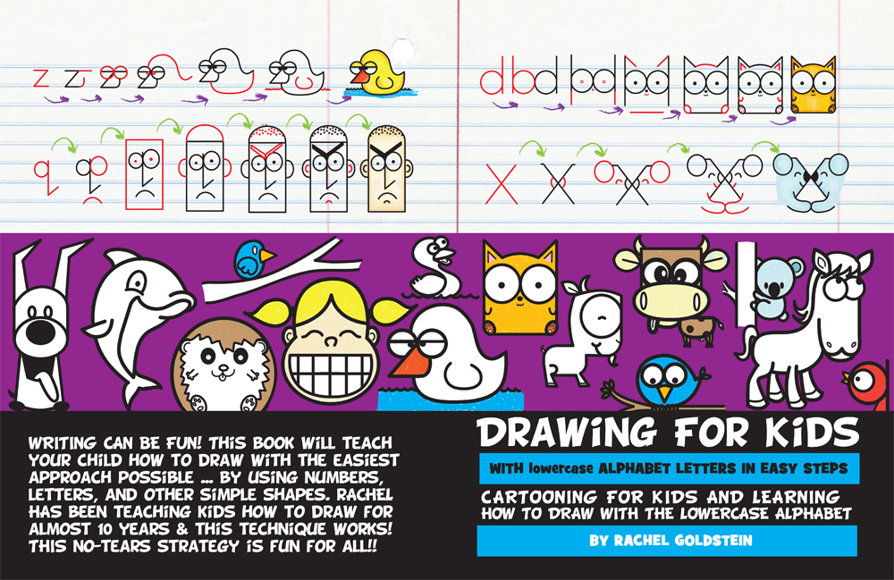 1000x649 Drawing For Kids With Lowercase Letters
