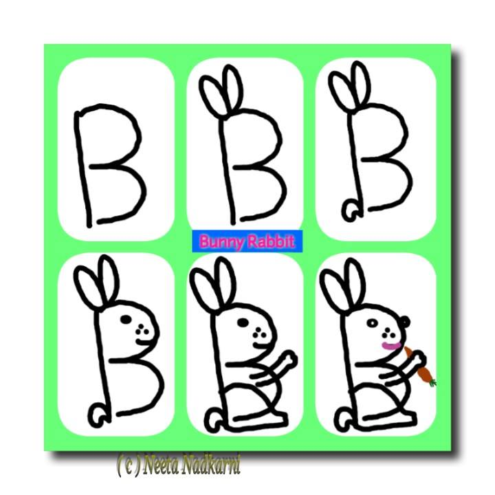 720x720 A Z Fun With Alphabets Simple Craft Ideas, Easy Drawings