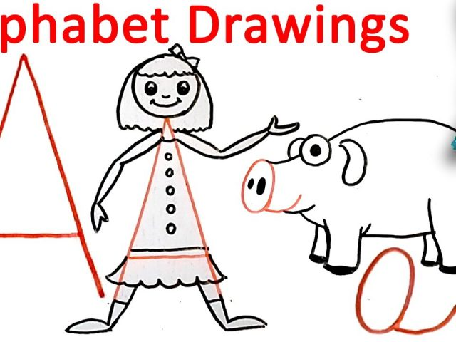 640x480 Drawing From Alphabets