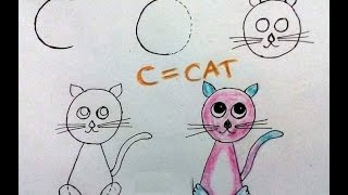 320x180 How To Draw Using Alphabets Learn Drawing For Kids Learn
