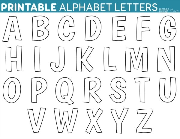 Alphabet letters drawing at getdrawings free for personal use 600x464 printable letter templates alphabet drawing endearing letters spiritdancerdesigns Choice Image