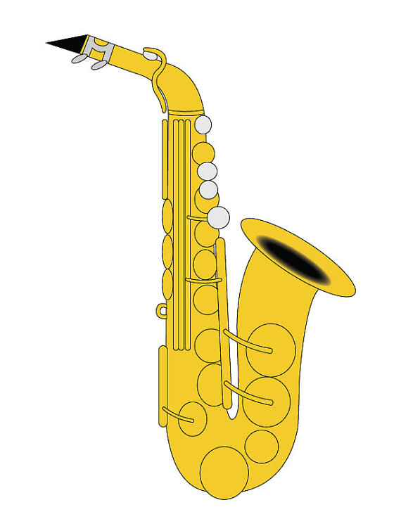 Alto Sax Drawing at GetDrawings com | Free for personal use Alto Sax