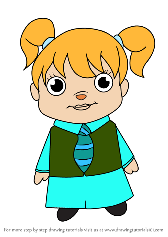 567x800 Learn How To Draw Kawaii Eleanor From Alvin And The Chipmunks