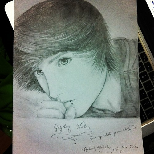 500x500 Jeyyounit11 Images An Amazing Drawing Of Jeydon!!! Wallpaper