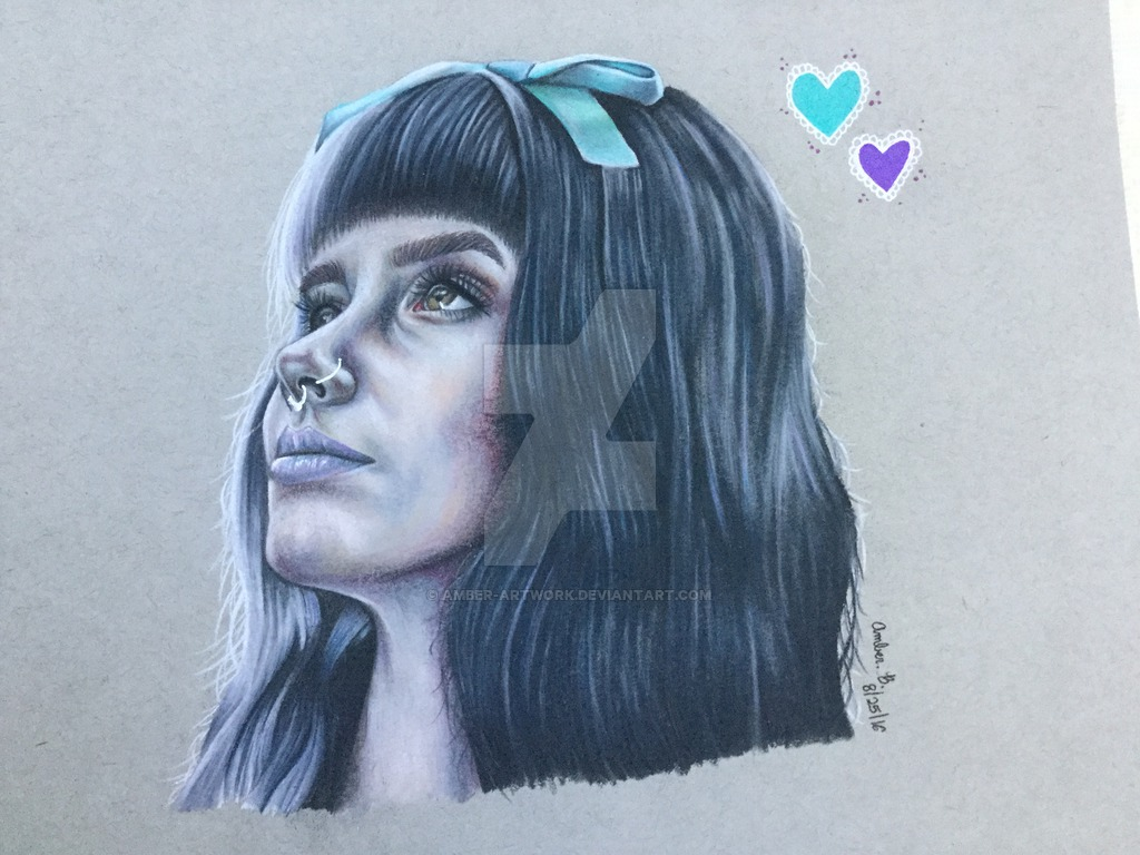 1024x768 Melanie Martinez Drawing By Amber Artwork