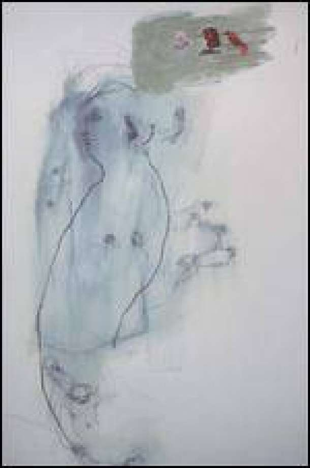 610x920 Pam Keeley's Ambiguous Drawings Survey The Human Condition