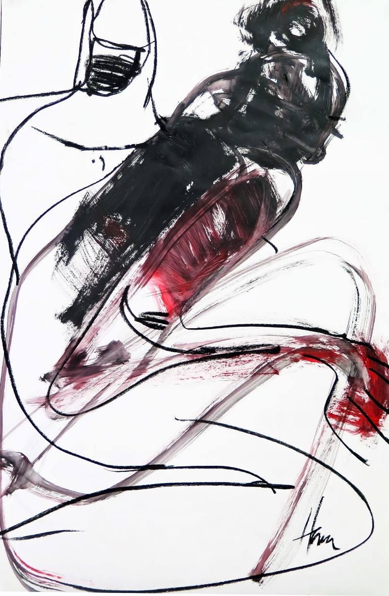 770x1177 Saatchi Art Ambiguous Drawing By Hana Davis
