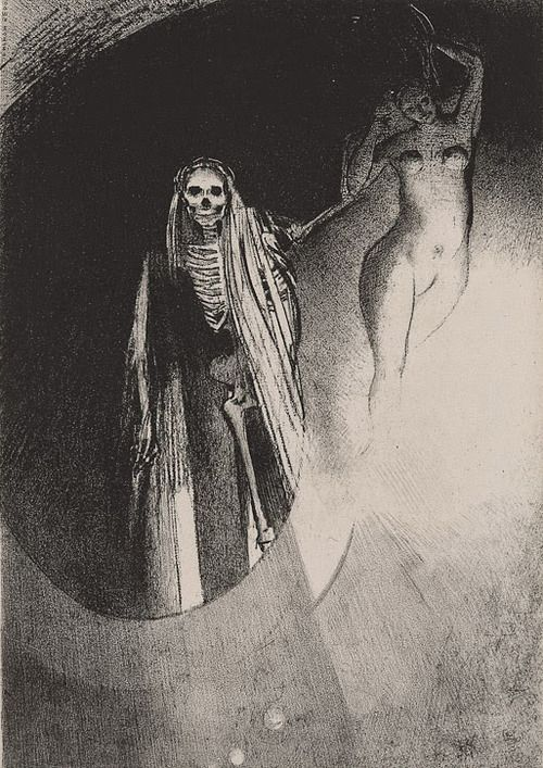 500x707 The Ambiguous Realm Of The Undetermined, Odilon Redon Just