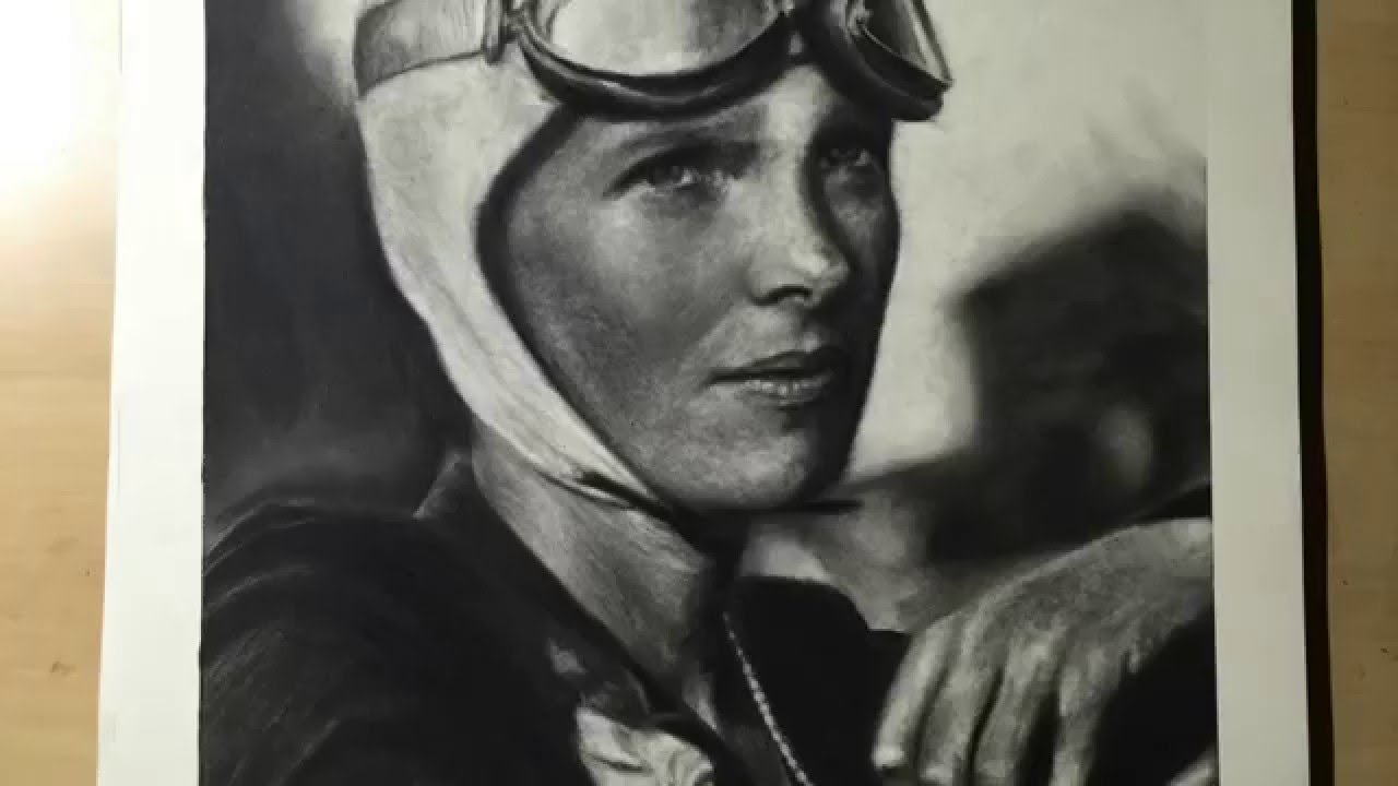 1280x720 Amelia Earhart Speed Drawing