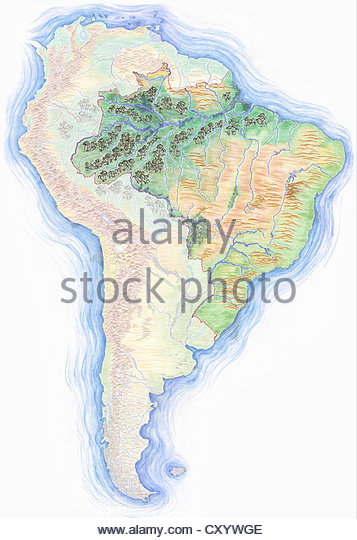 357x540 Hand Drawn Map America Drawing Stock Photos Amp Hand Drawn Map