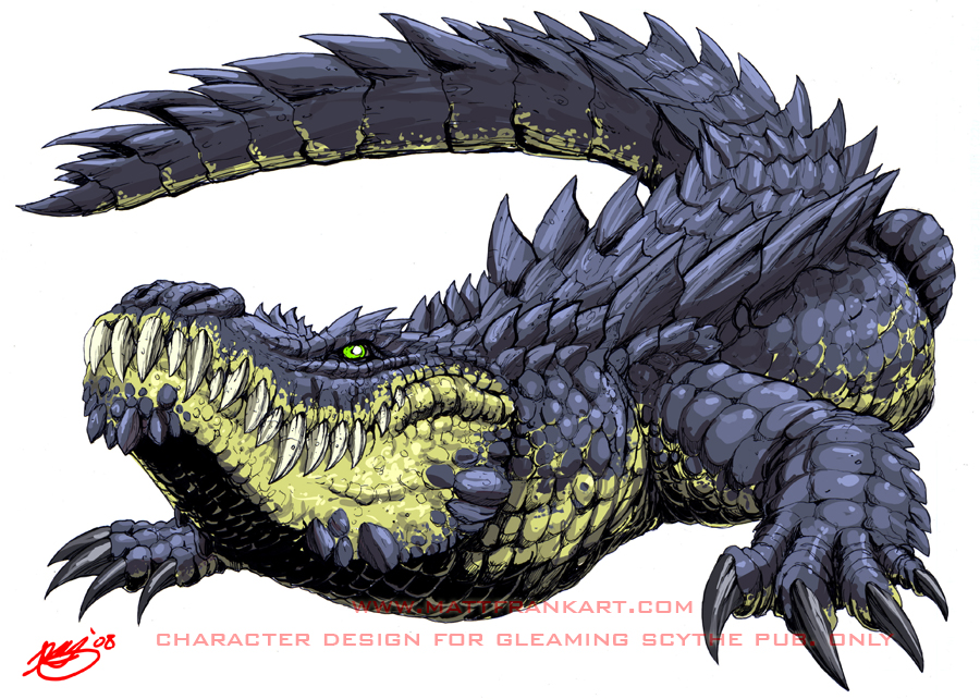 900x642 Giant Alligator By Kaijusamurai