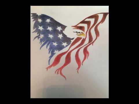 480x360 American Eagle Drawing