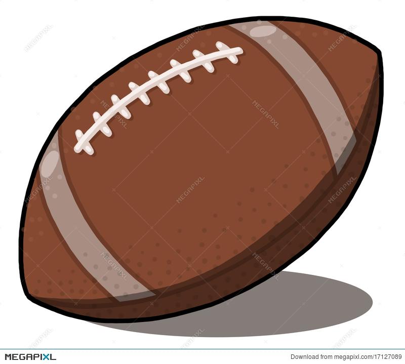 800x719 American Football Ball Illustration Illustration 17127089