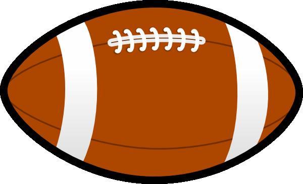600x364 Ball Football Clip Art