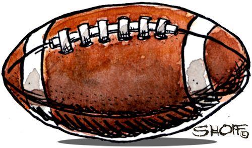 500x294 Football Ball Illustration