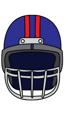 215x382 How To Draw A Football Helmet, Easy Step By Step Drawing Tutorial
