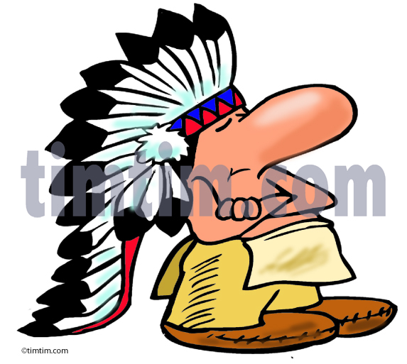 573x513 Free Drawing Of American Indian Chief 2 From The Category History