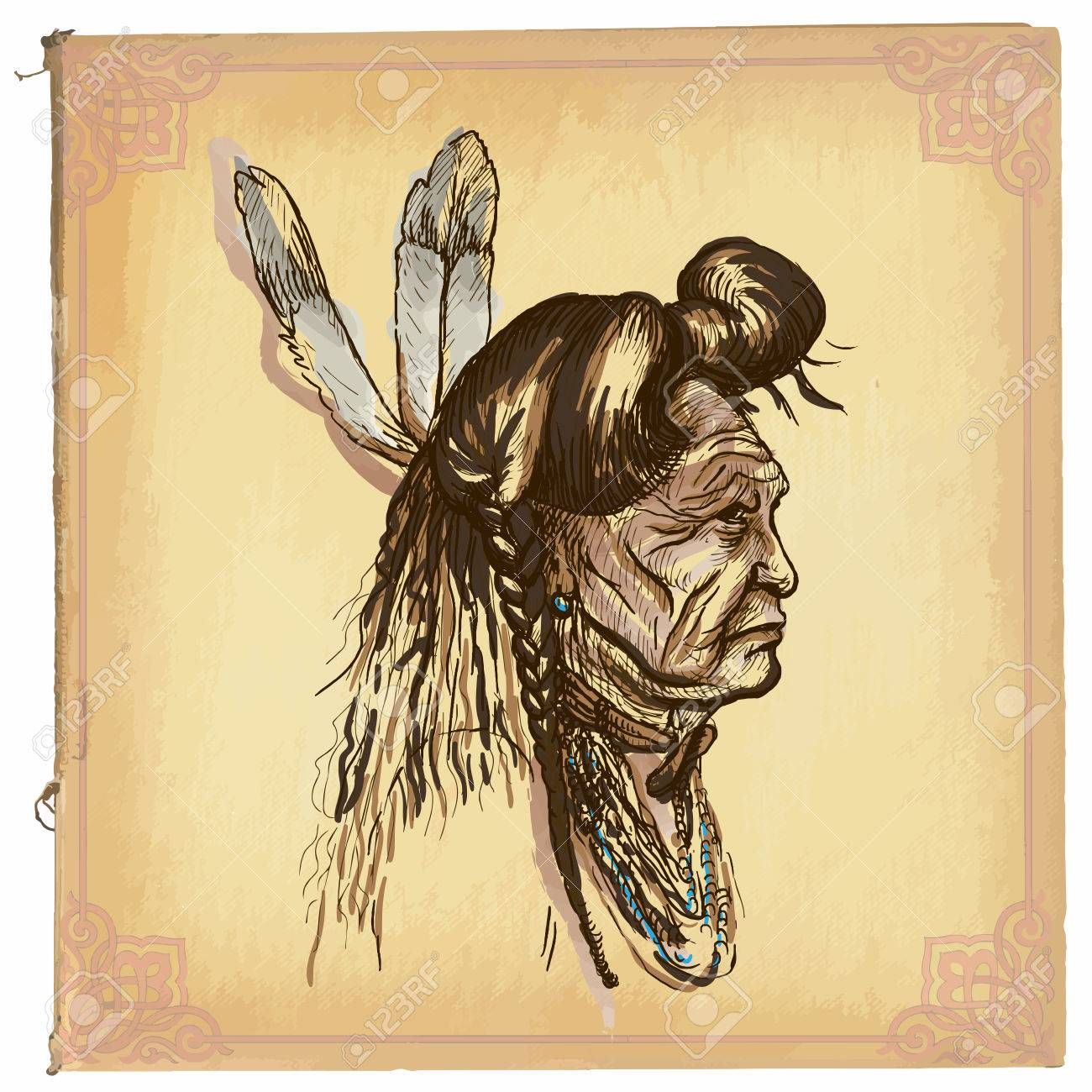 American Indian Drawing at GetDrawings.com | Free for personal use ...