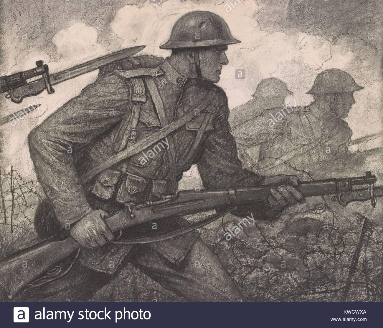1300x1116 American Troops Ww1 1918 Stock Photos Amp American Troops Ww1 1918