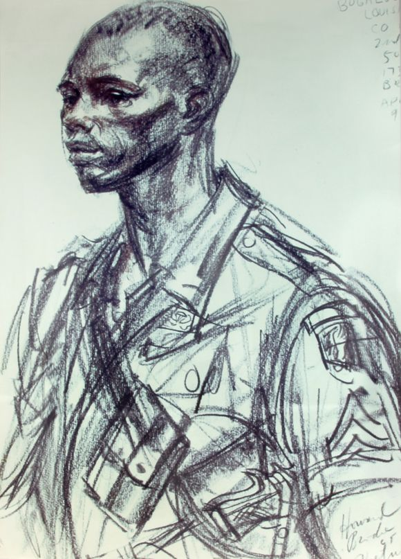 580x807 Young African American Soldier In World War Ii