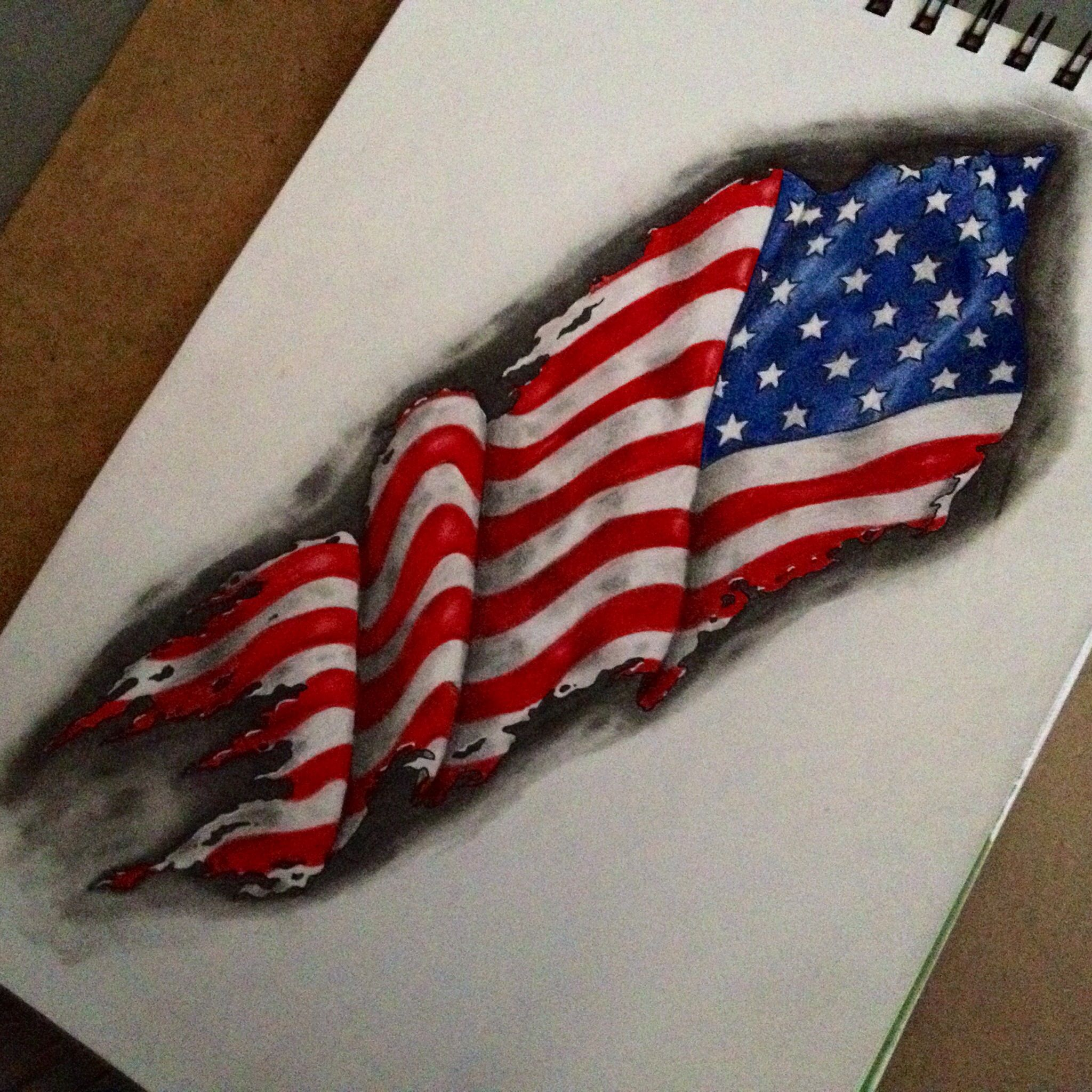 2048x2048 American Flag Drawings Flags, Tattoo And Tatting