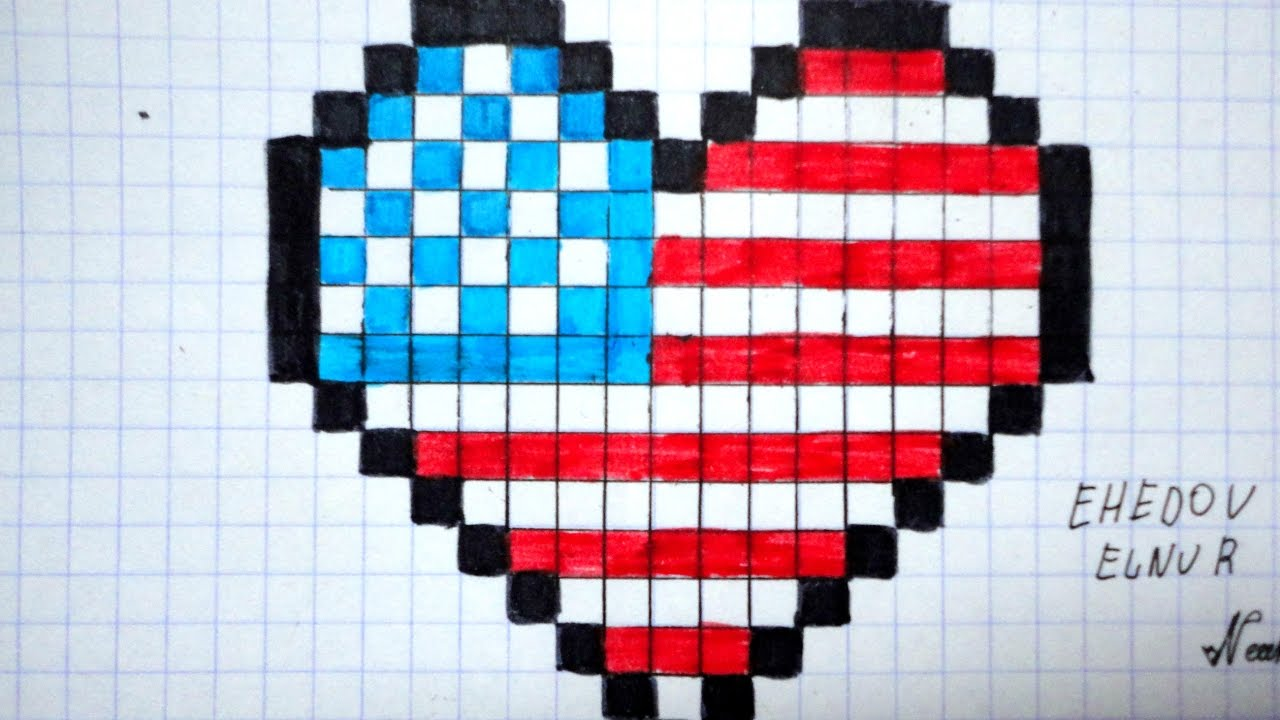 1280x720 How To Draw The American Flag Step By Step Super Easy Video Lesson