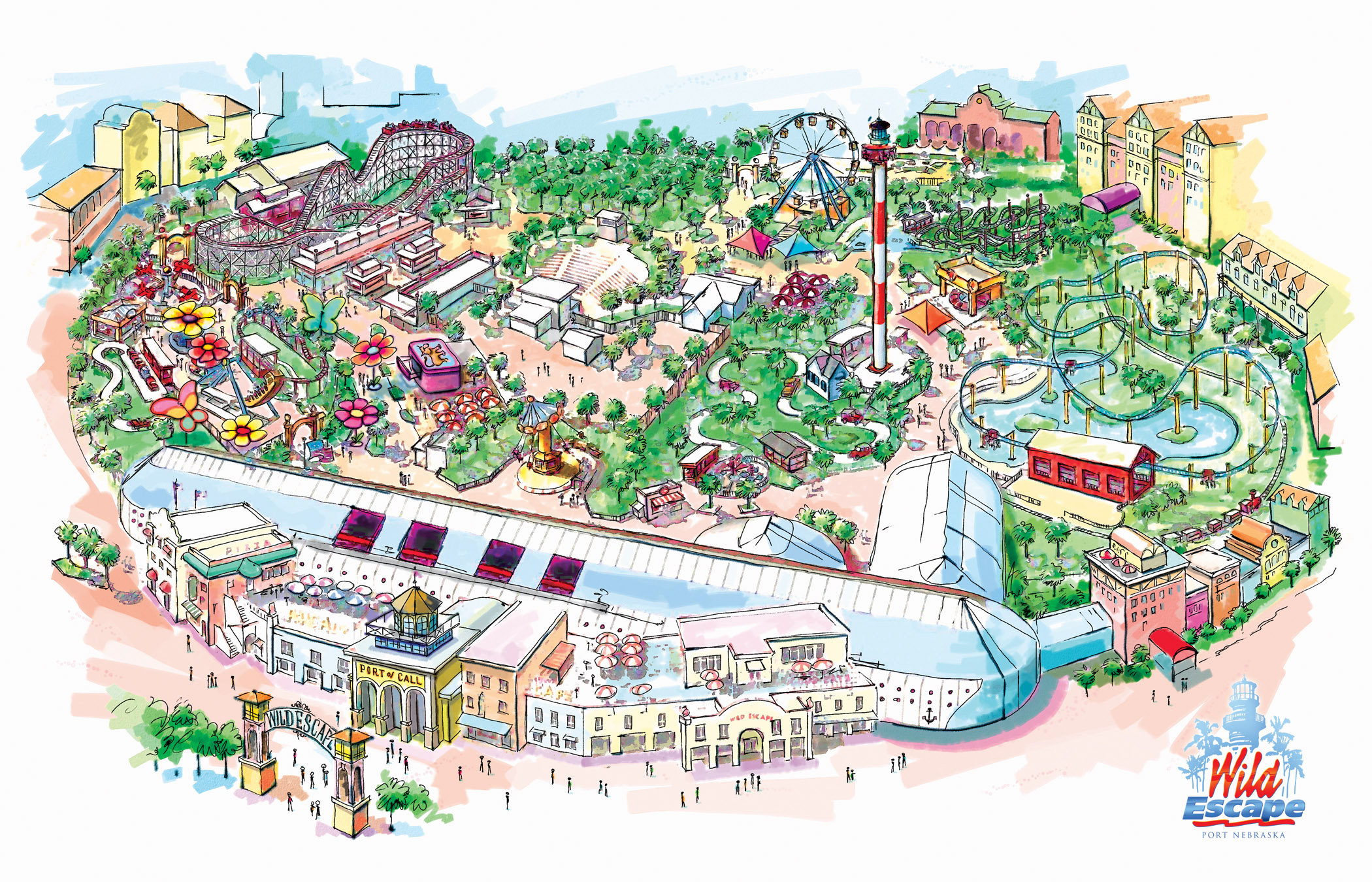 2100x1350 Omaha Area Amusement Park