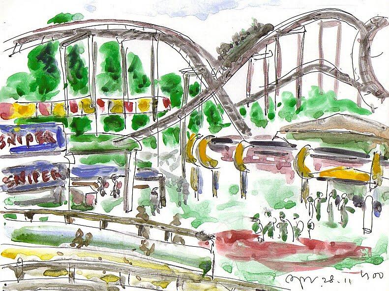 791x592 Yoo Drawing Amusement Park Of Children's Grand Park
