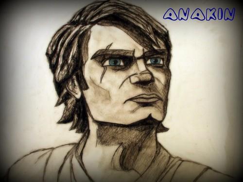 500x375 Clone Wars Anakin Skywalker Images Anakin Drawing Hd Wallpaper