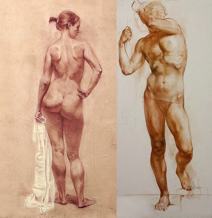 700x720 How To Apply Anatomy In Life Drawing