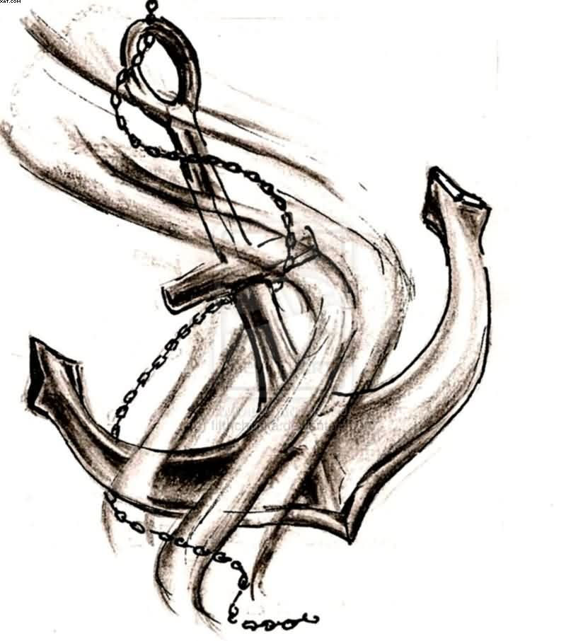 800x906 Anchor Tattoo Ideas And Anchor Tattoo Designs Page 30