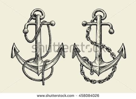 450x327 Drawn Anchor Anchor Chain