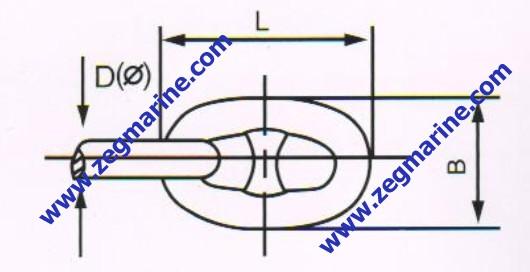 530x272 U1 U2 U3 Grade Stud Link Anchor Chain,anchor Chain Marine