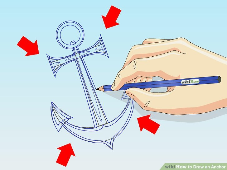 728x546 How To Draw An Anchor 8 Steps (With Pictures)