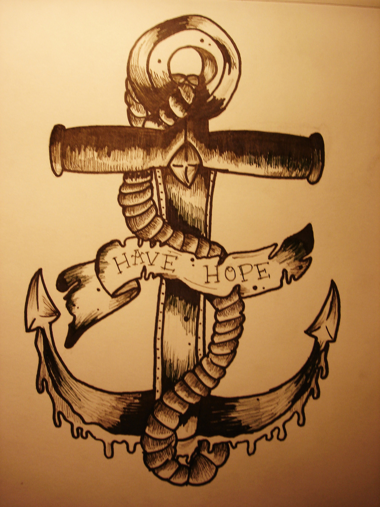 768x1024 Anchor Drawing Took Me A While But Yeah) Melsome.