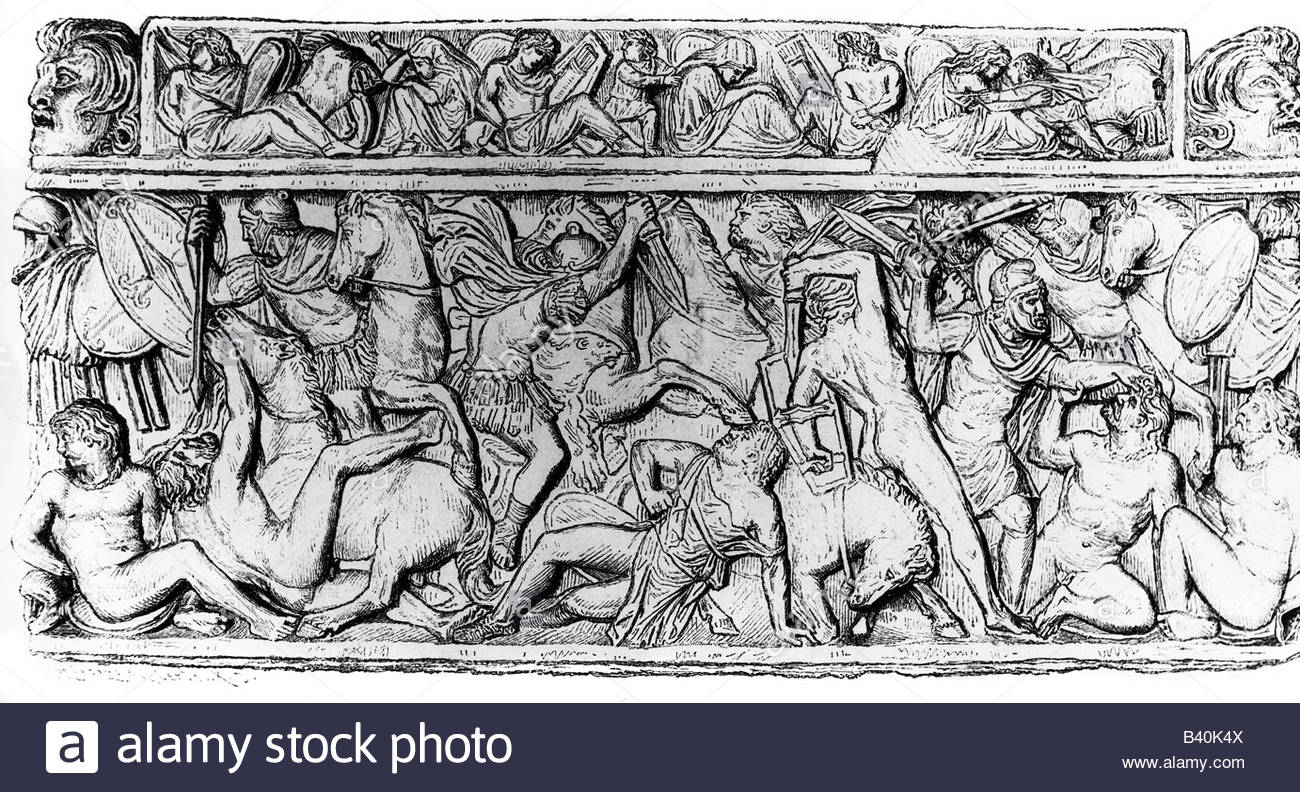 1300x792 Ancient World, Roman Empire, Battle, Cimbri Against Latins, 102 Bc
