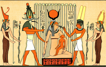 370x232 Ancient Egyptian People, Festivals And Marriage Facts And Details