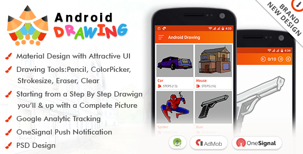 590x300 Android Drawing By Viaviwebtech Codecanyon