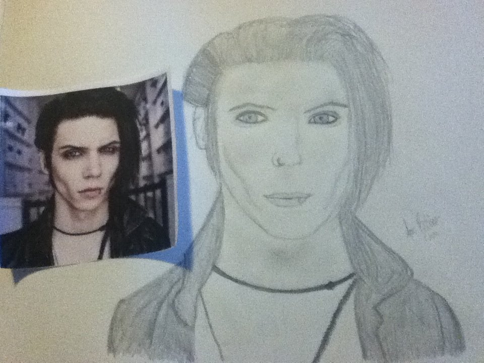 960x720 Andy Biersack Drawing By Annanonymous25