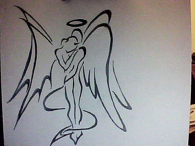 640x480 Angel Devil Hug By Snoepixx Photography