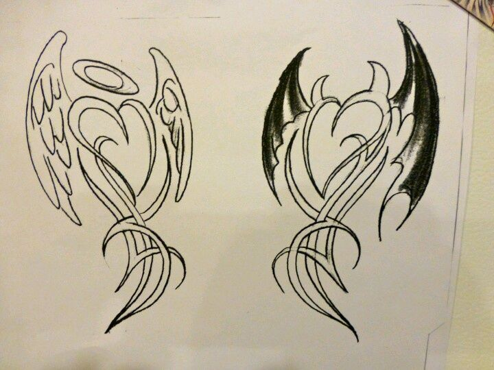 720x540 Devilangel Tattoo