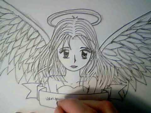 480x360 How To Draw A Manga Angel