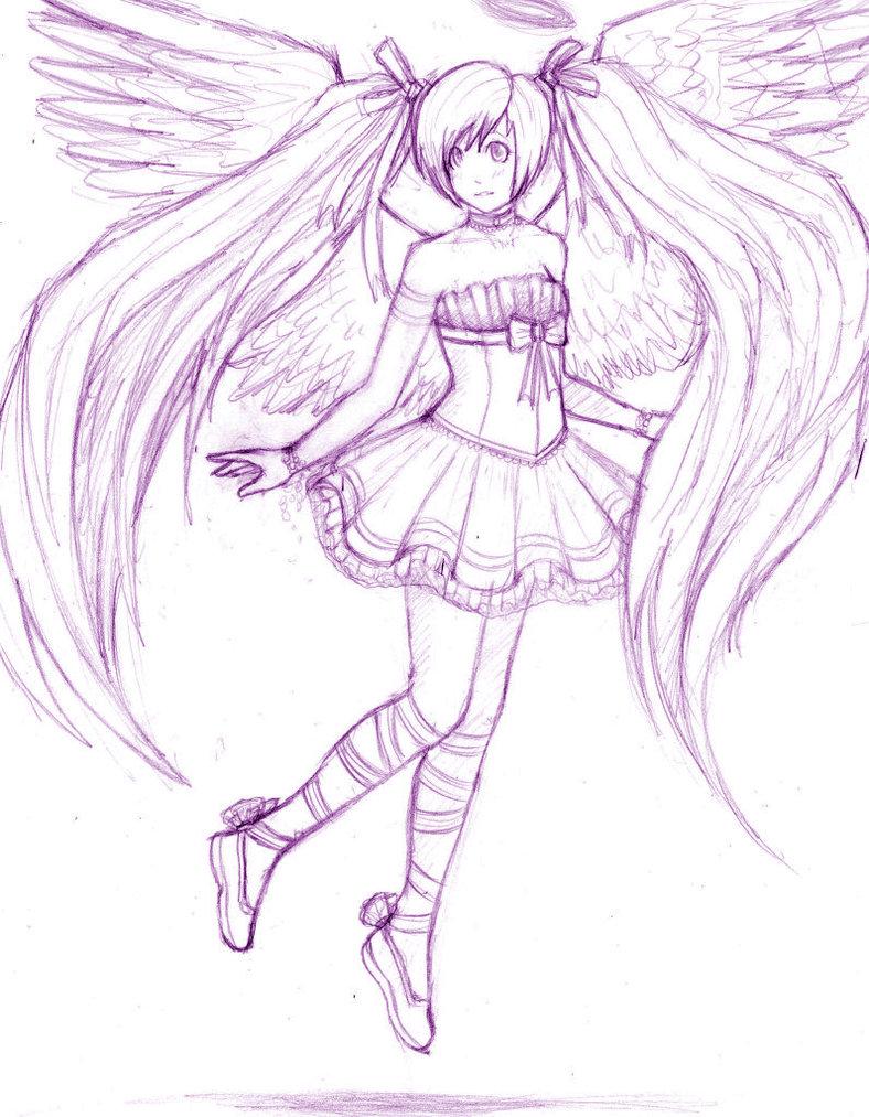 788x1013 Anime Angel Wip By Stalaxy